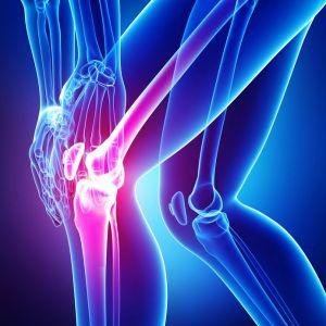 knee with arthritis pain