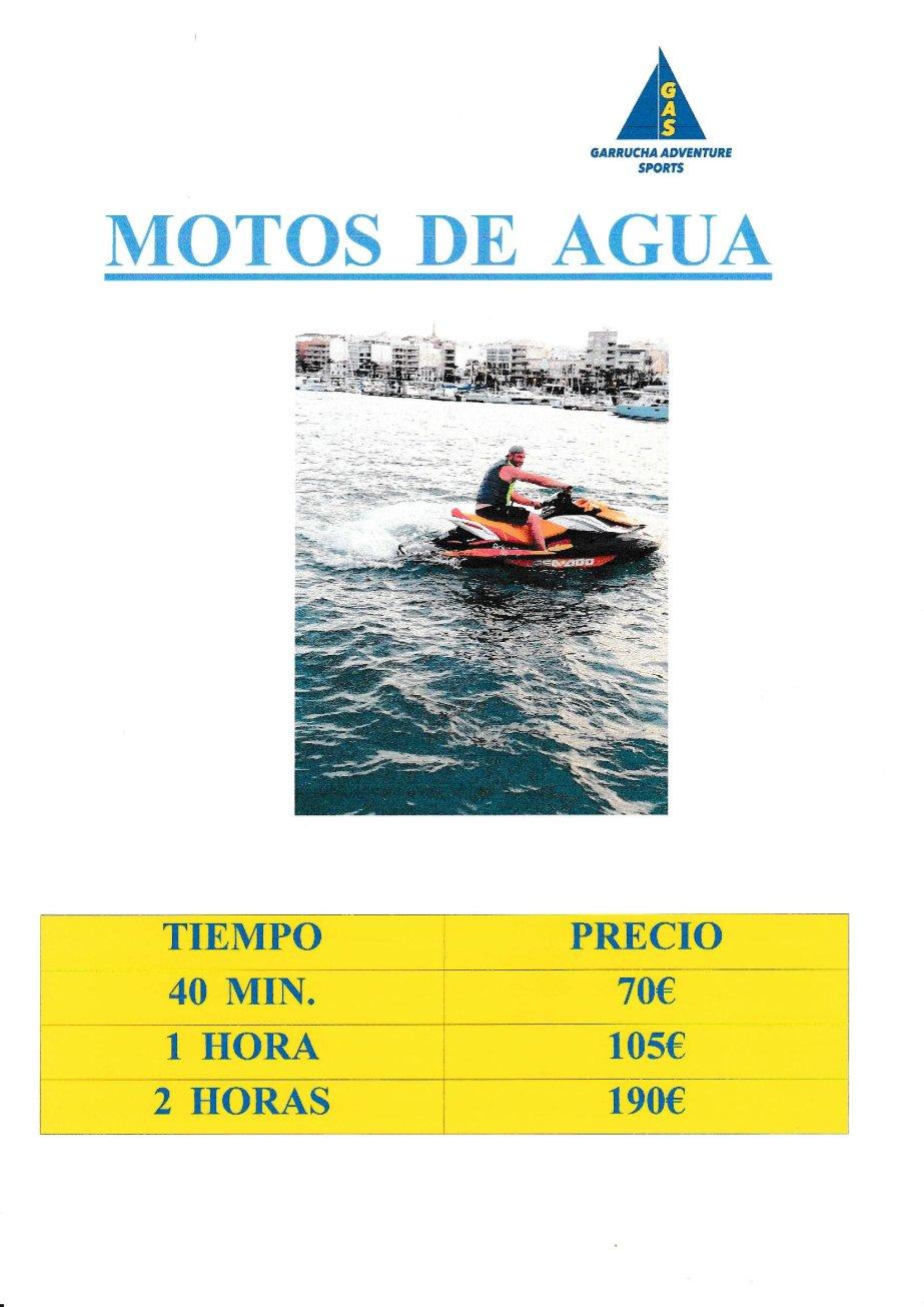 Alquiler de motos de agua en Garrucha