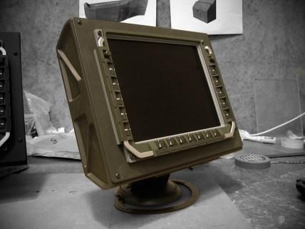 Computer monitors for the command centre