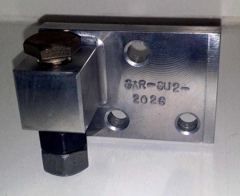 GAR-GU-2026 Lower Stop assembly