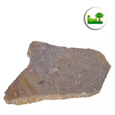 italienischer Porphyr Polygonalplatte -gartenleber