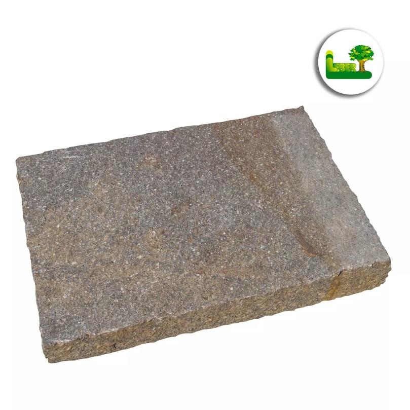 italienischer Porphyr Bodenplatte -gartenleber