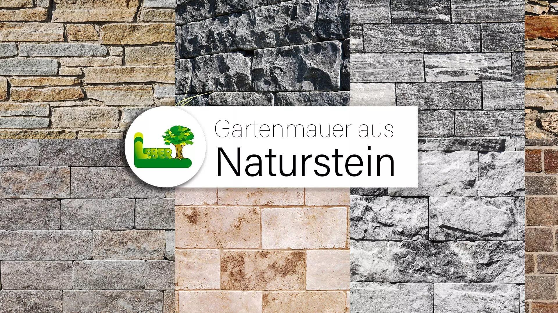 -Die perfekte Ergänzung in Ihrem Garten. Eine Gartenmauer aus Natursteinen.