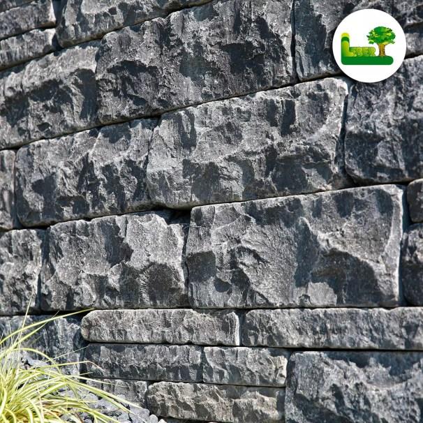 Kerala Basalt - Mauersteine - gartenleber