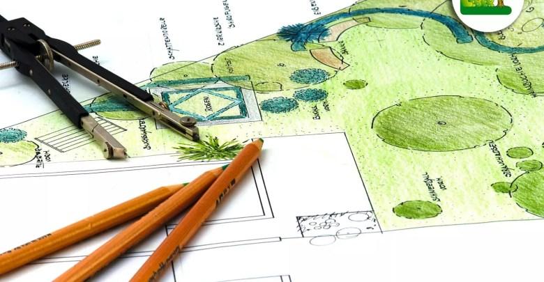 Gartenplanung in 2D und 3D.