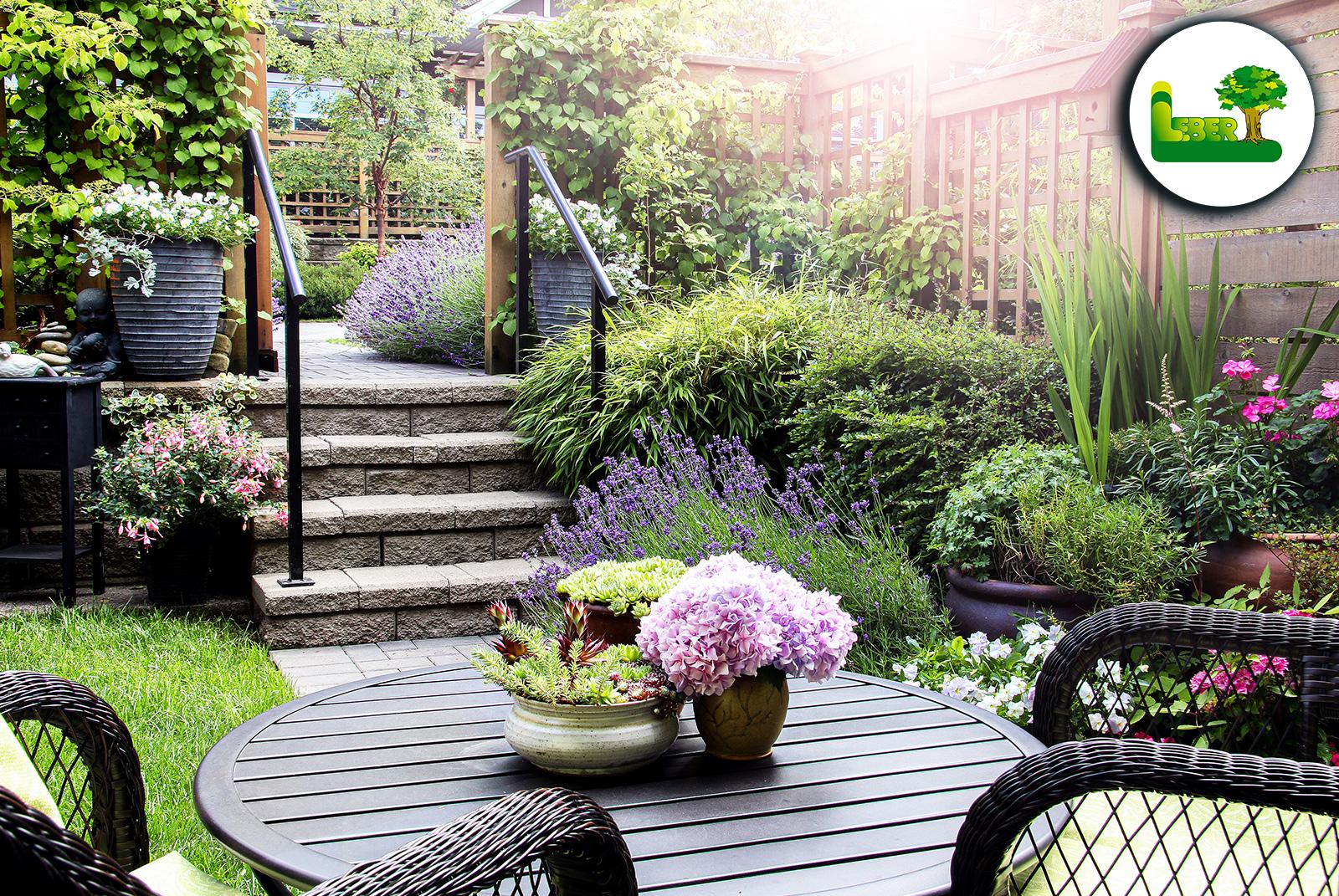Kleinen Garten gestalten. » Tricks, Ideen und Bilder ...