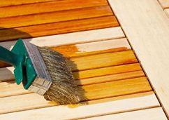 Teaköl streichen Gartenmöbel wetterfest Holzpflege