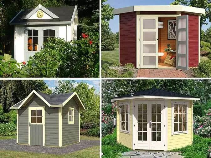 Gartenhäuschen für kleine Gärten