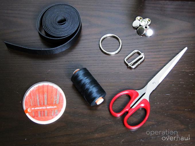 Как сделать кожаный harness своими руками. 2 способа: классический и суперлегий. Материалы и инстурменты