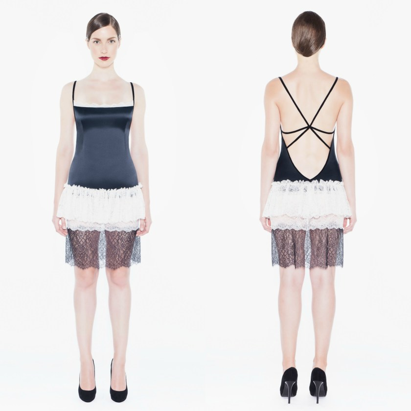 open back lace nightdress