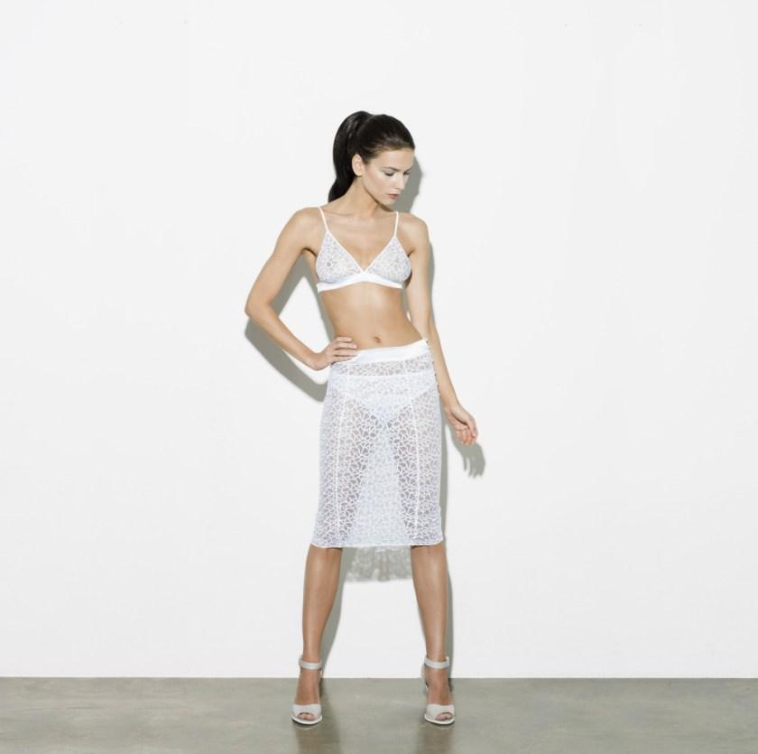 Fleur of England Forever fishtail skirt and boudoir bra  front_edit