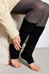 Soft + Slouchy Toeless Knee-High Sock, $16 , с хлопком