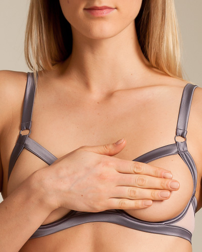 Maison Close, Doux Vertige Open Bra, $80