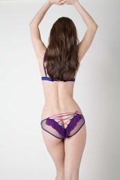 Damaris, Cougar Silk Tulle Tassle Corset Knicker, £94