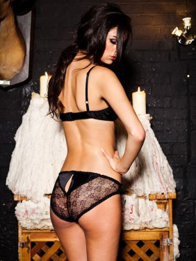 Ayten Gasson, Julia Black Ouvert Knicker, £40