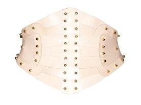 Una Burke, Leather corset nude, 473 € instead 675 €
