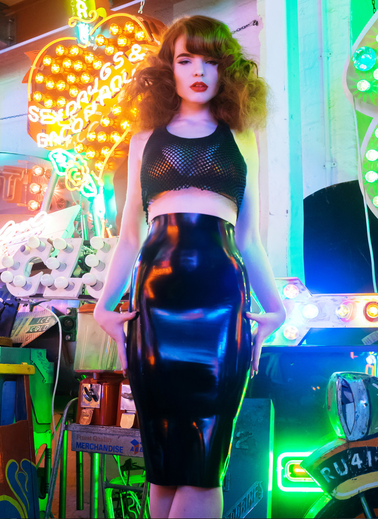 Latex Venus Pencil Skirt, цена £49 вместо £62