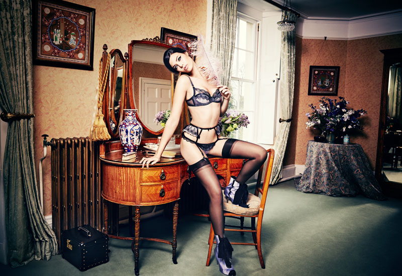Agent Provocateur AW15 Classic lingerie collection