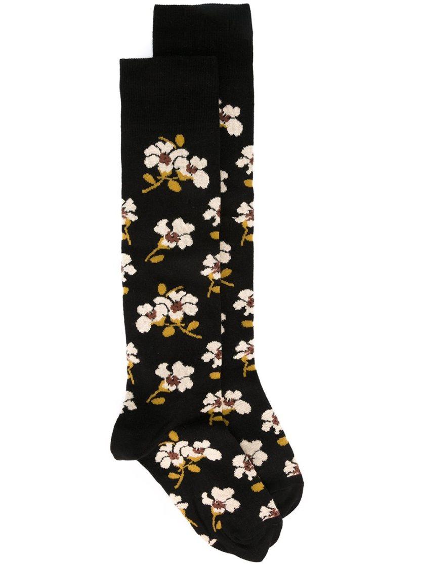 Жаккардовые носки с цветочным узором Marni, 4 784,83 ₽