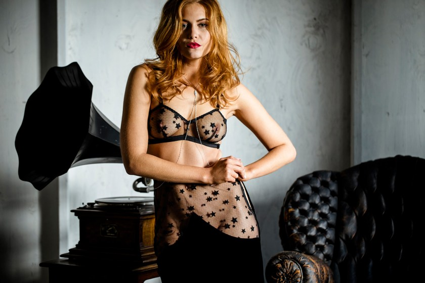 Evgenia Lingerie Rebelle collection, aw 2016-2017