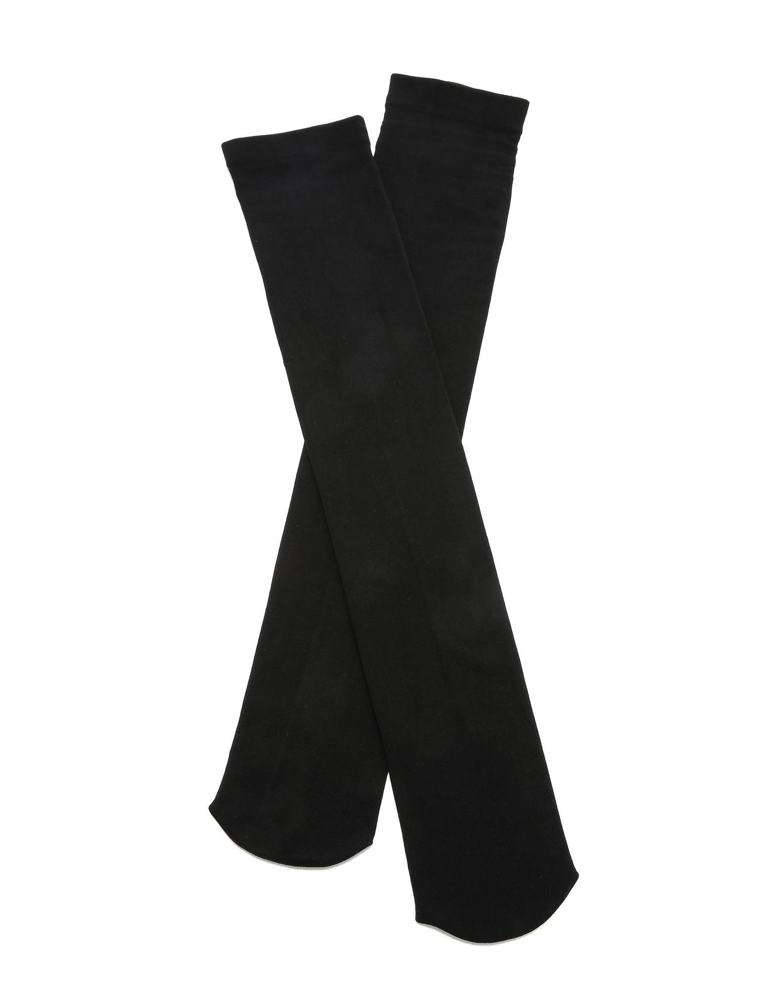 Чулки Plush с ворсовой подкладкой длиной до бедра