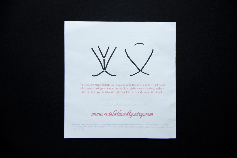 Портупея своими руками. Набор и инструкции Evie la Luve. Обзор в журнале GB {Garterblog.ru}