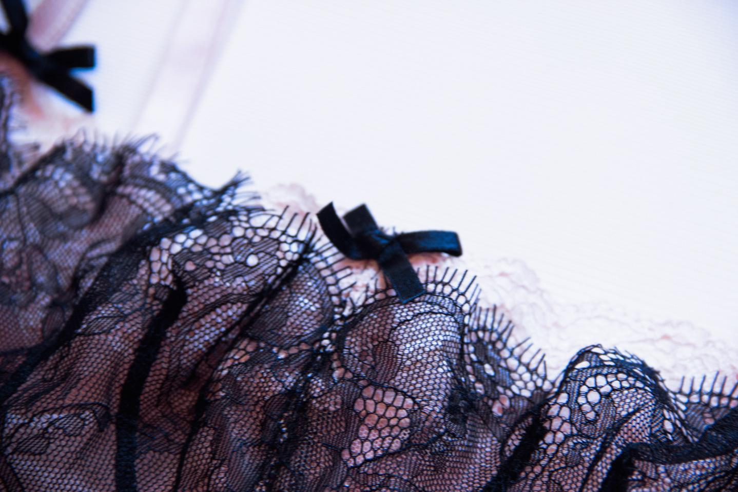 Рубрика «Будуарный гардероб» в журнале GB {Garterblog.ru}. Героиня – психолог Надежда Сологубова. Бюстгальтер и будуарная маска Incanto