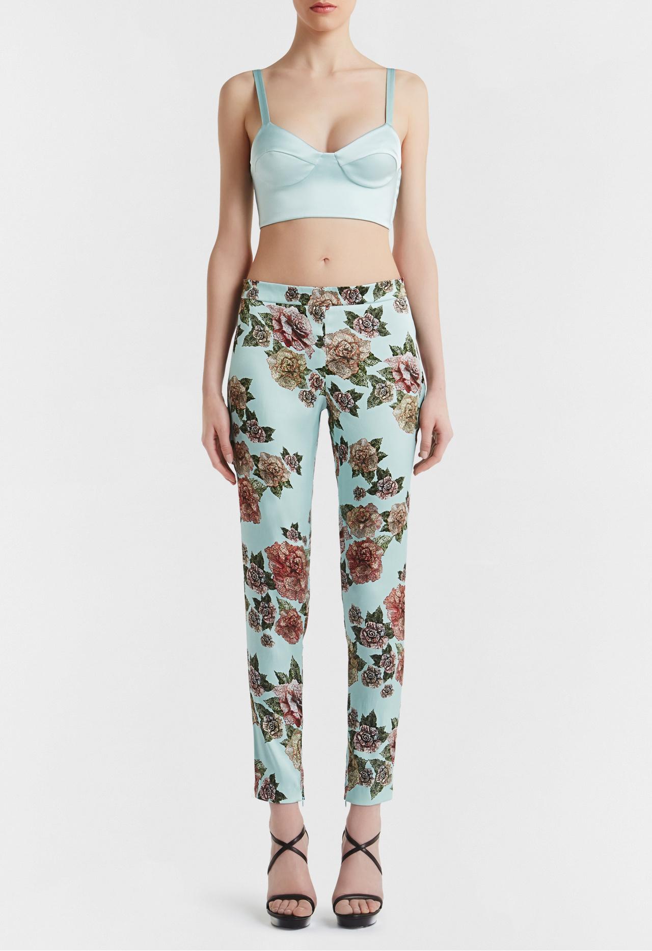 Maps in Bloom: Розы и полоски в нестандартной летней коллекции нижнего белья и одежды от La Perla