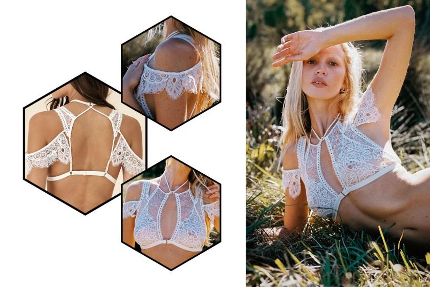 [Вещь недели] Бра с декорированными деталями для плеч Ophelia от Tisja Damen