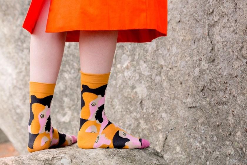 Где купить модные носки. Фото Bonne Maisom