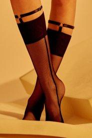 Marika Vera Kim Fishnets socks with harness, $499.00 MXN
