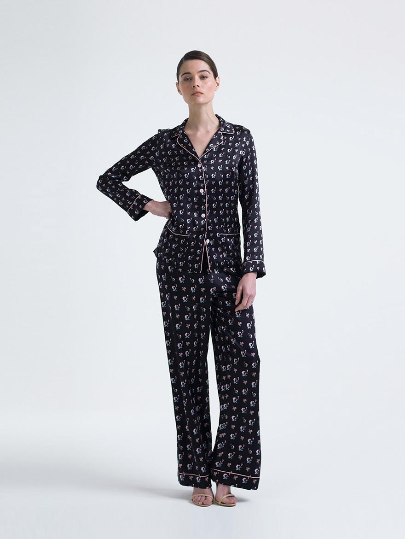 Meng, шелковая одежда для дома