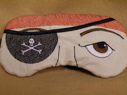 Хлопковая маска для сна MadeByMeEmbroidery, $12.95