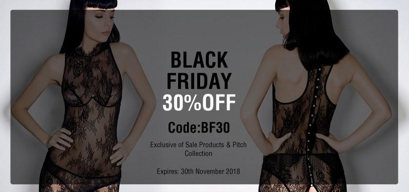 Черная пятница 2017, скидки на брендовое нижнее белье E.L.F Zhou