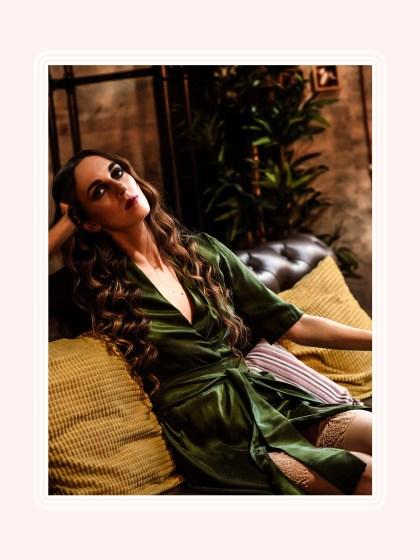 Будуарная фото-история: платье-халат, Луиза Казати и декаданс