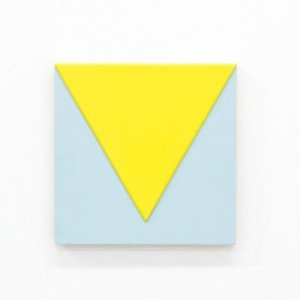 Print of Yellow Triangle