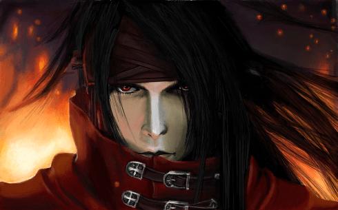 Vincent Valentine Final Fantasy VII Desenho De Nessinhac Gartic