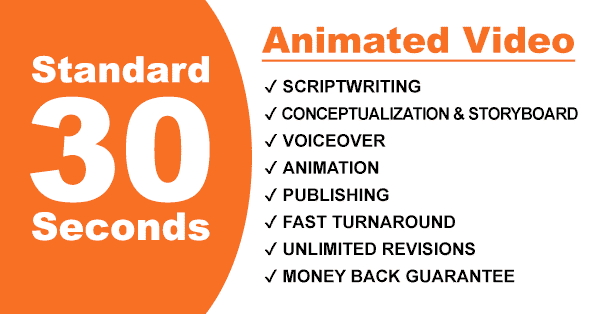 Get 30 Second Animated Video for only $99!