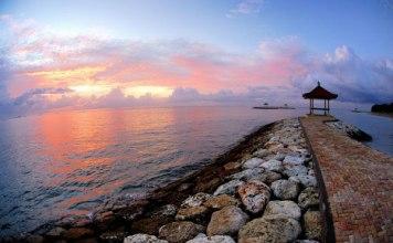 keindahan pantai sanur