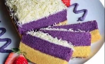 Resep Kue Kukus Cantik Dengan Ubi Ungu