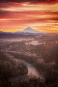 Mt Hood from Jonsrud Viewpoint