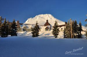 Timberline Lodge and Mount Hood