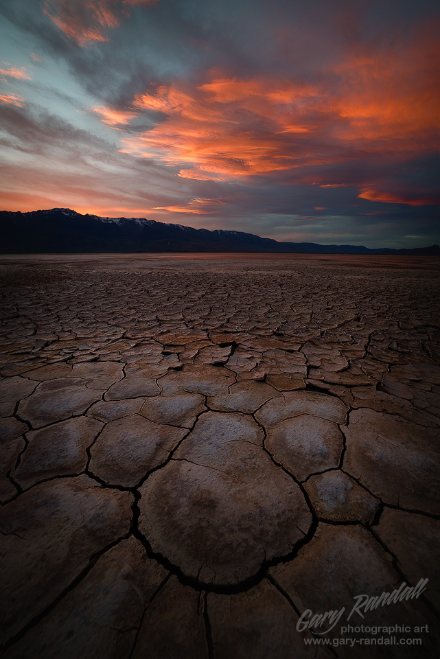 An Alvord Desert sunset
