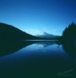Trillium Lake Pinhole Photo