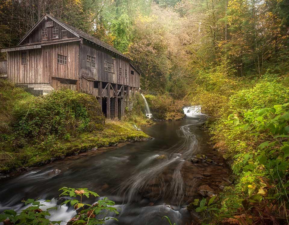 Ceder Creek Grist Mill Amboy Washington
