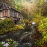 Cedar Creek Grist Mill Amboy Washington