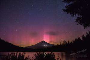 Aurora in Oregon