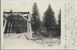 Zigzag Bridge at Rowe