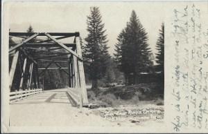 Zigzag Bridge at Rowe