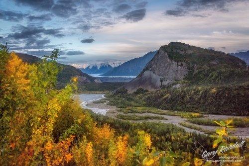 Caribou Creek and the Matanuska River near Glacierview Alaska